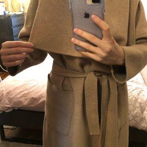 d6428ae3 Zara waterfall wool camel coat size M